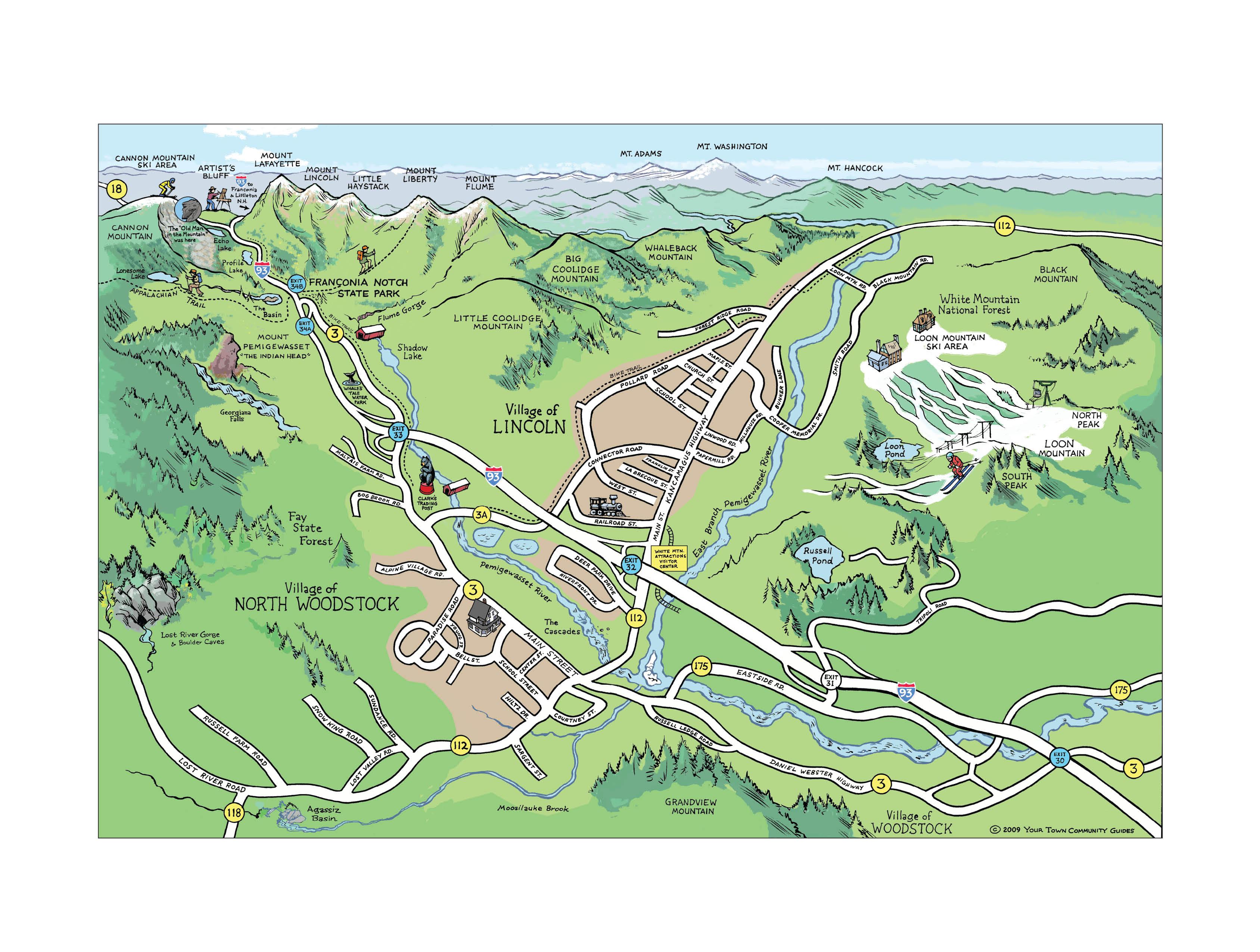 Cartoon Maps on